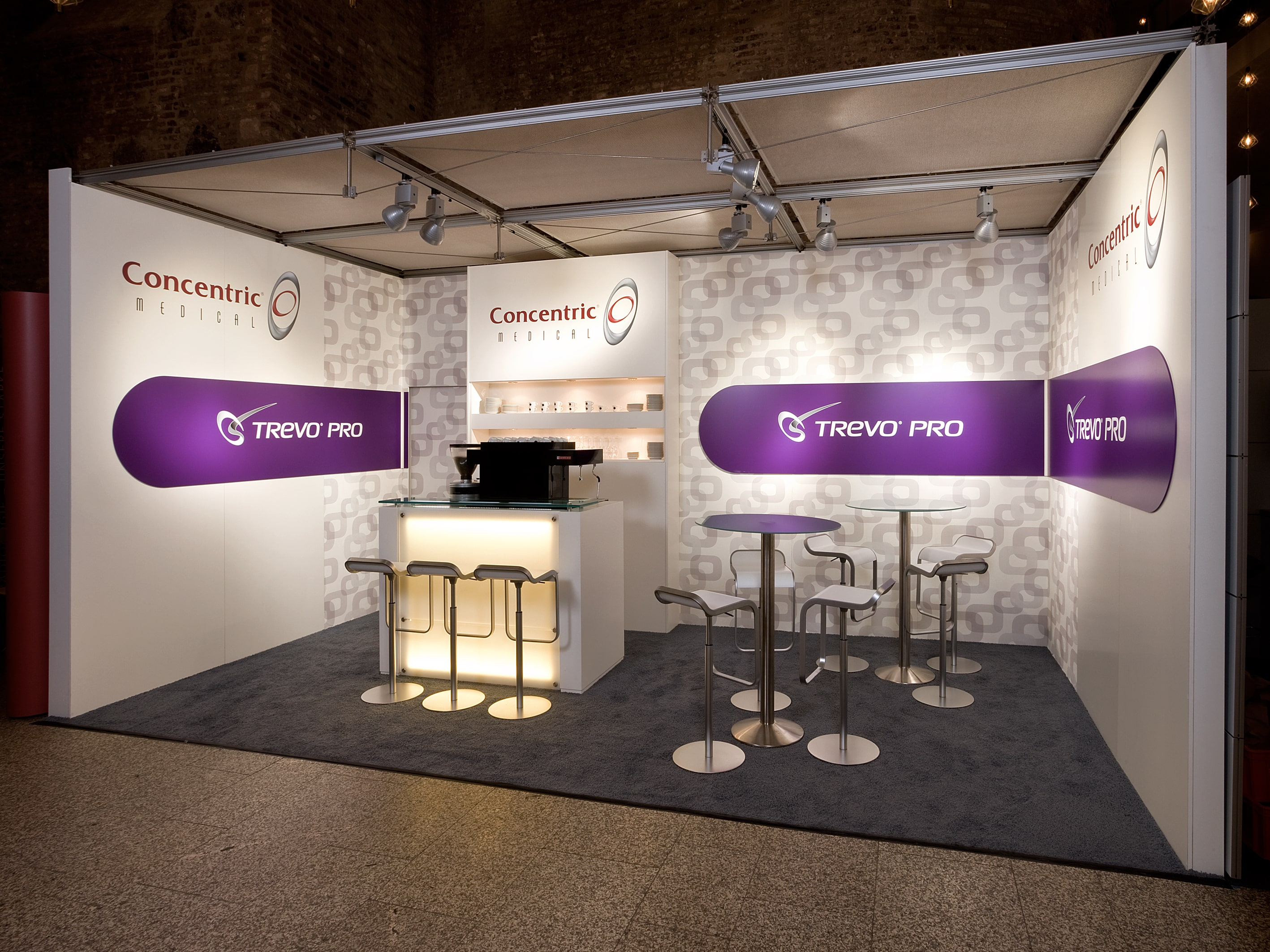 Concentric Messestand
